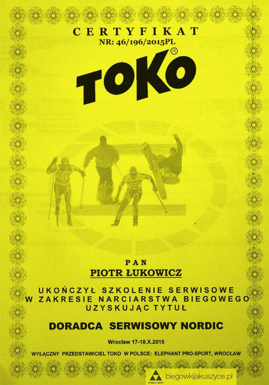 Doradca Serwisowy Nordic od firmy TOKO