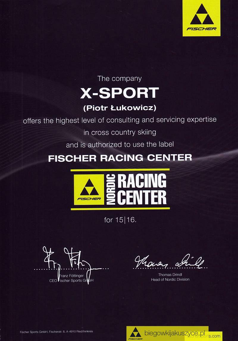 Certyfikat narciarski trenera narciarstwa biegowego